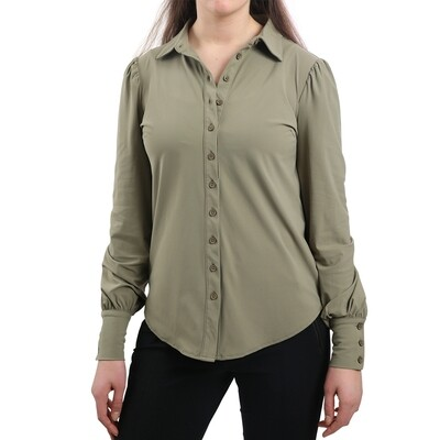 Blouse Travel army green-Realize