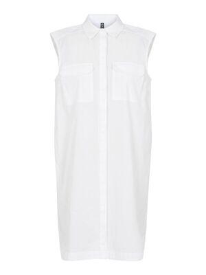 Mouwloze blouse/jurk - Pieces