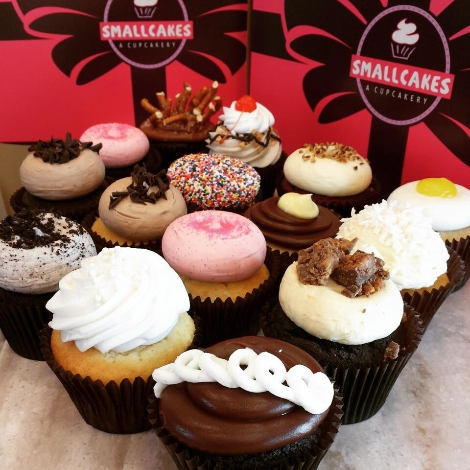 4 Self-Selected Cupcakes