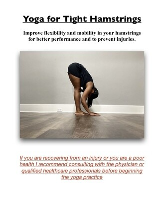 Yoga For Tight Hamstrings
