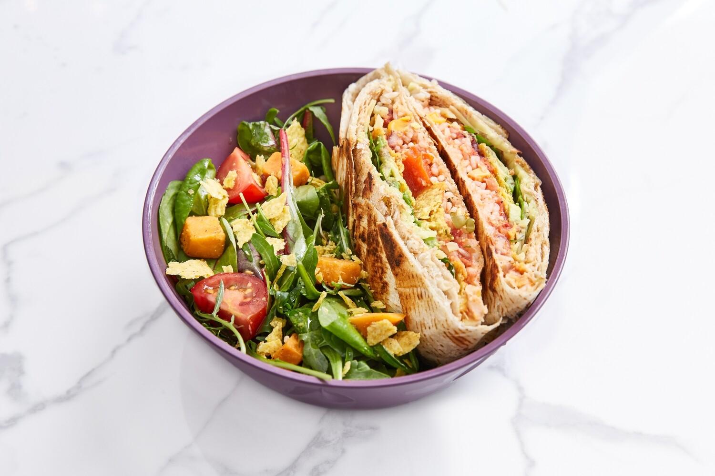 Jeden Tag: Supreme XXL Wrap mit Salat