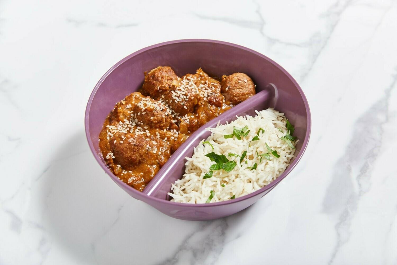 Mittwoch: Malai Kofta mit Reis