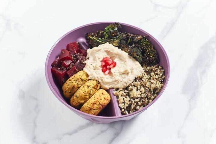 Freitag: Winter Buddha Bowl x Rote Bete x Quinoa x Süßkartoffel-Falafel