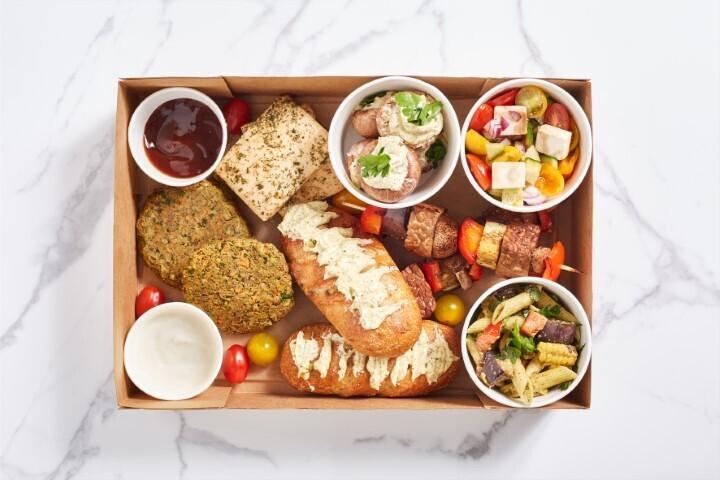 Grill-Box für 2 bis 4 Personen
