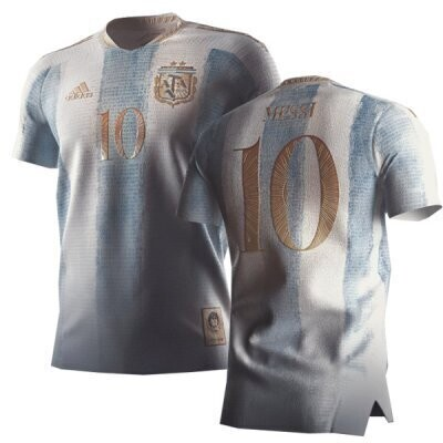 2021 Argentina MESSI Pay Tribute To Maradona Concept Kit