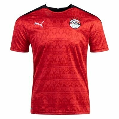 20-21 Egypt Home Red Soccer Jersey