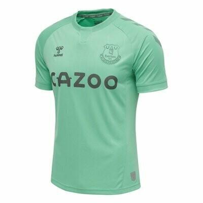 20-21 Everton Third Green Soccer Jersey Shirt