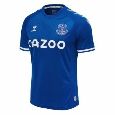 20-21 Everton Home Blue Soccer Jersey Shirt