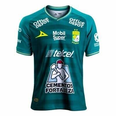 Club Leon Home Green Soccer Jersey Shirt 20-21