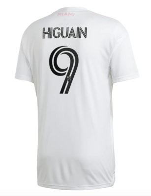 Official Adidas Gonzalo Higuaín  Inter Miami Home Jersey 2020