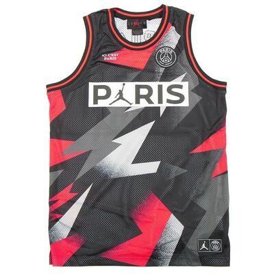 Official Jordan x PSG Black Mesh