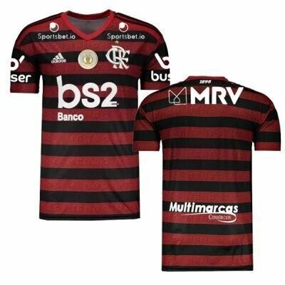 Adidas  CR Flamengo Brasileirão Series A Patch Jersey Shirt 19/20