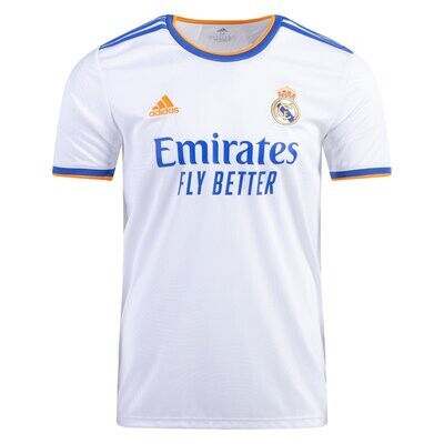 21-22 Real Madrid Home Authentic Jersey (Player Version)
