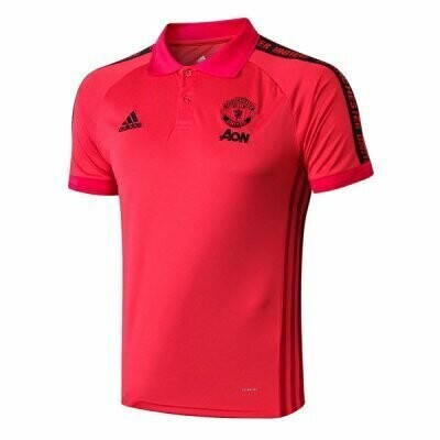 Manchester United Red Polo Shirt 2019