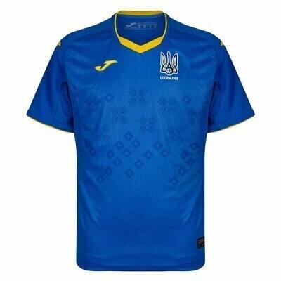 2021 Ukraine Away Soccer Jersey