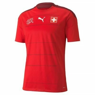 2021 Switzerland Home Red Soccer Jersey