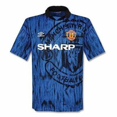 Manchester United Away Retro Jersey Shirt 1992-1993