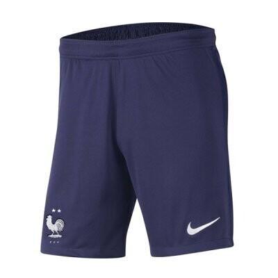 2020 France Home Navy Soccer Short