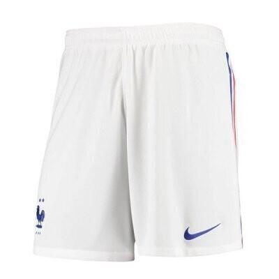 2020 France Away White Soccer Short