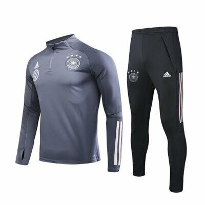 Germany Dark Gary Training Suit 2020