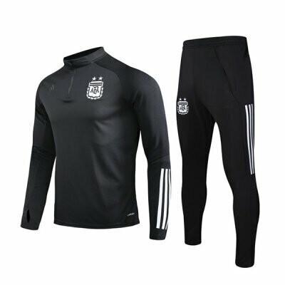 Argentina Black Training Suit 2020