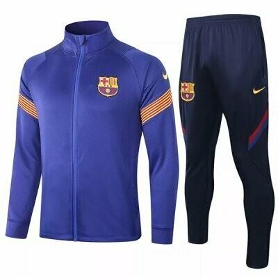 Barcelona Blue Training Jacket Kit 20-21