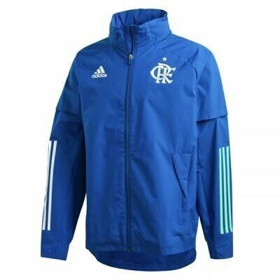 Flamengo Blue Windrunner Hoodie Jacket 20-21