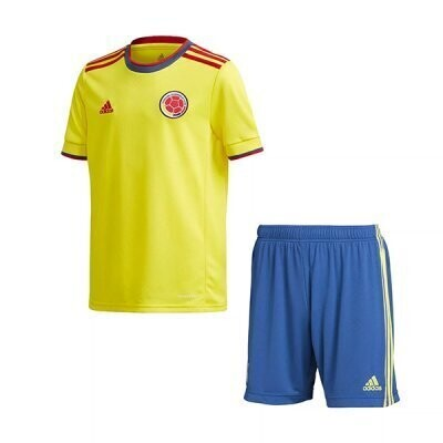 2021 Colombia Home Jersey Kids Kit