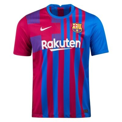 21-22 Barcelona Home Authentic Jersey (Player Version)