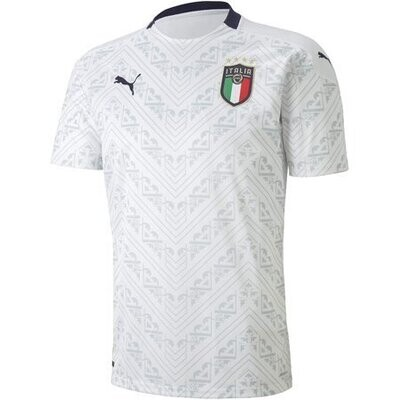 2020 Italy Away Authentic Soccer Jersey Shirt (Player Version)