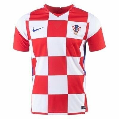 20-21 Croatia Home Soccer Jersey Shirt