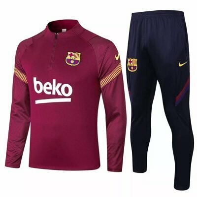 Barcelona Red Training Suit 20-21