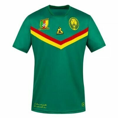 2021 Cameroon Home Green Jersey