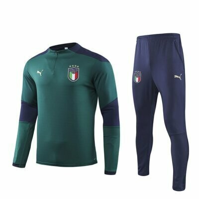 Italy Green Training Suit 2020