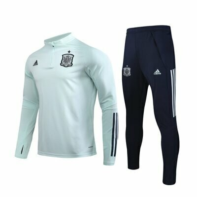 2020 Spain Pink Green Training Suit
