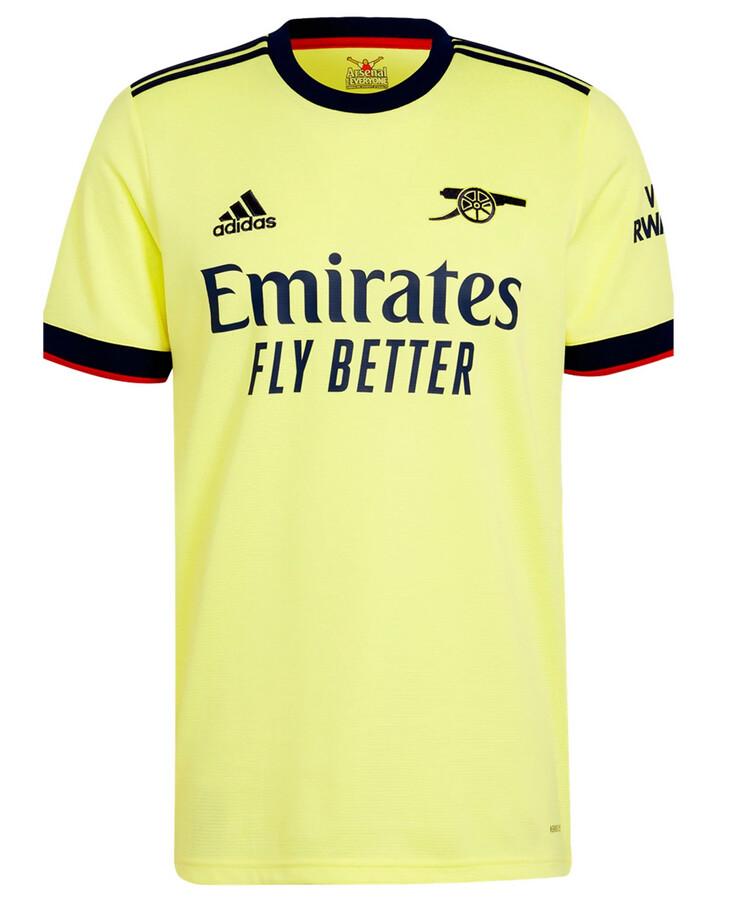 Arsenal Away Soccer Jersey Shirt 21-22