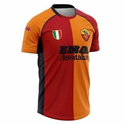2001-2002 Roma Home Retro Jersey Shirt