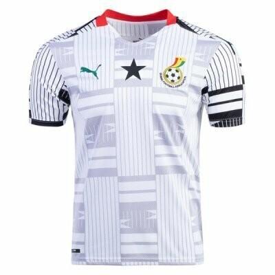 20-21 Ghana Home Soccer Jersey