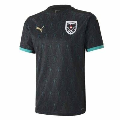 Austria Away Black Soccer Jersey Shirt 20-21