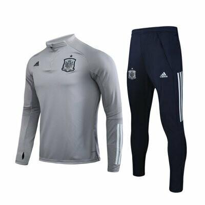 2020 Spain Light Gray Training Suit