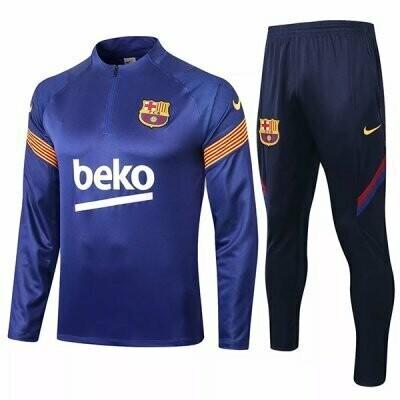 Barcelona Blue Training Suit 20-21