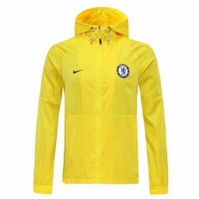 Chelsea Yellow Windrunner Hoodie Jacket 20-21
