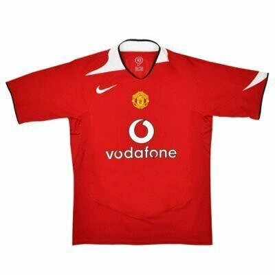 Manchester United Home Retro Shirt 2004-06