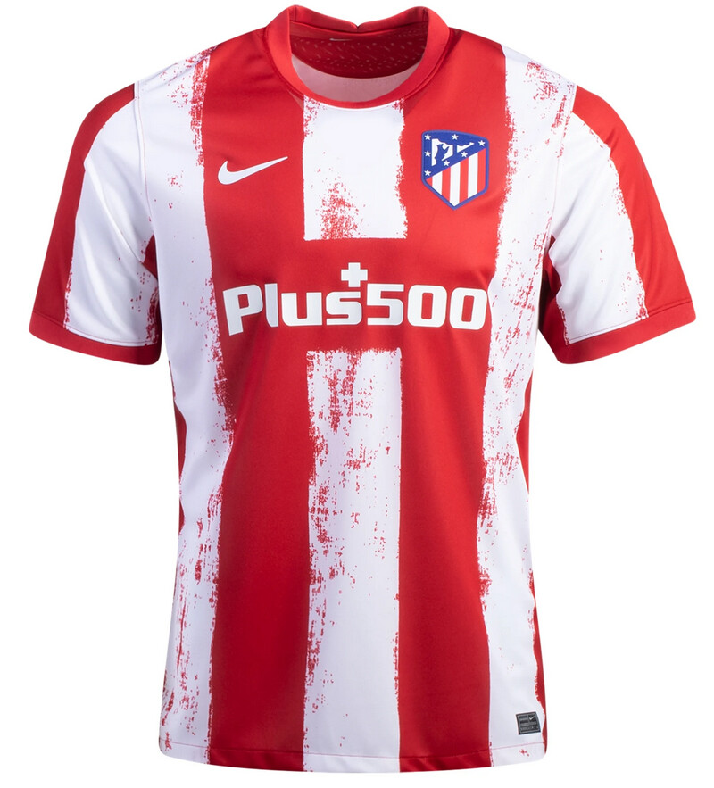 Atletico Madrid Home Soccer Jersey 21 22