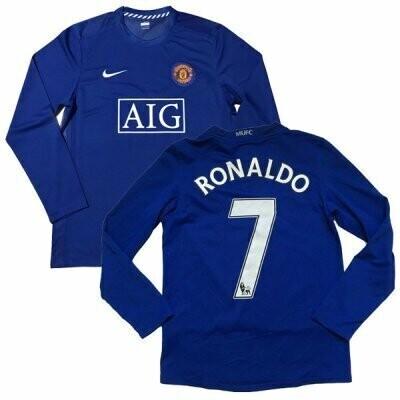 Manchester United Third LS RONALDO #7 Premier League Shirt 1 2008-2009