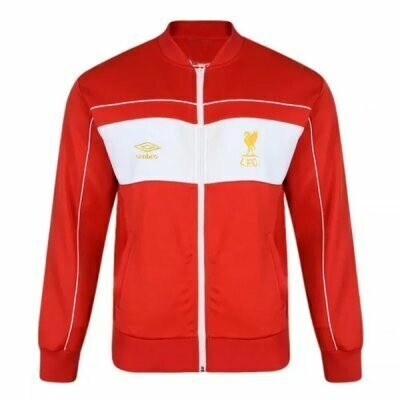 1982 Liverpool Home Red Retro Jacket