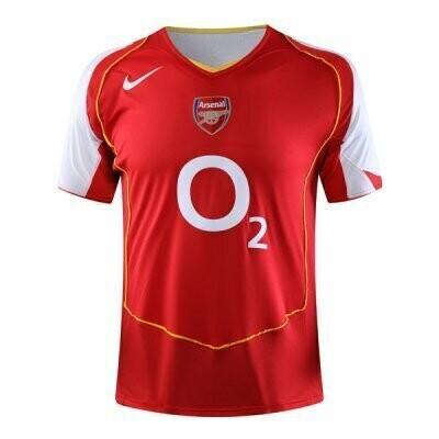 2004-2005 Arsenal Home Retro Jersey Shirt