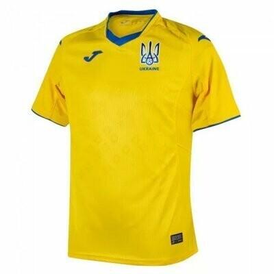 2021 Ukraine Home Soccer Jersey