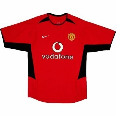 Manchester United Home Shirt 2002-04