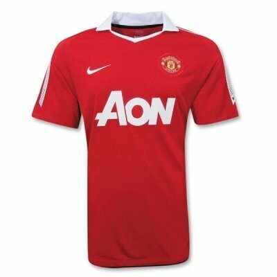 Manchester United Home Soccer Jersey Retro Shirt 2010-2011